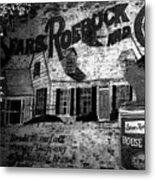 Old Sears Paint Sign Metal Print