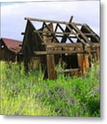 Old Shack At The Gorge Ba 3000 Metal Print
