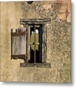 Old Shack Metal Print by Bernard Jaubert