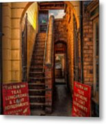 Old Signs Metal Print by Adrian Evans