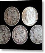 old silver II Metal Print