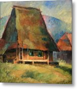 Old Small House Metal Print