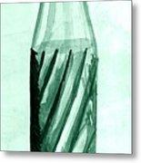 Old Soda Bottle One Metal Print
