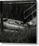 Old South Fishing Metal Print