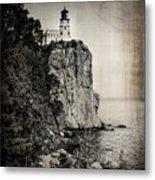 Old Split Rock Lighthouse Metal Print
