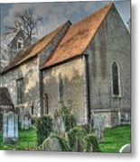 Old St Mary's Walmer Metal Print