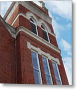 Old St Pete Steeple Metal Print