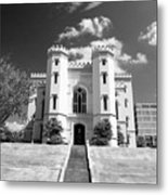 Old State Capital - Infared Metal Print