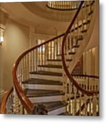 Old State House Spiral Staircase Metal Print