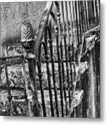 Old Steps And Railings Metal Print