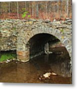 Old Stone Bridge In Illinois 1 Metal Print