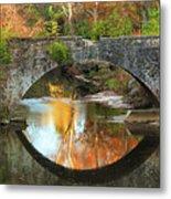Old Stone Bridge Over Fountain Creek 2 Metal Print