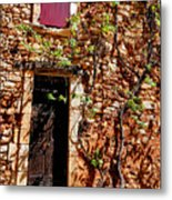 Old Stone House In Provence Metal Print