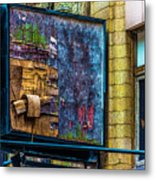 Old Store Sign Pittsburgh Pennsylvania V4 Dsc0917 Metal Print
