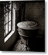 Old Stove Metal Print