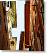Old Street In Nice Metal Print