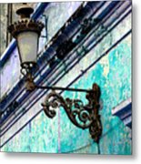 Old Street Lamp By Darian Day Metal Print