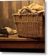 Old Style Laundry Metal Print