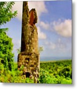 Old Sugar Mill Metal Print