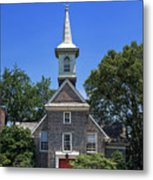Old Swedes' Church Metal Print