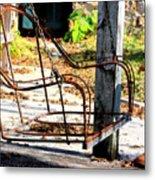 Old Swing Metal Print