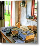 Old Time Kitchen At Old World Wisconsin Metal Print