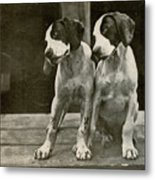 Old Time Photo Metal Print
