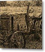 Old Timer Metal Print