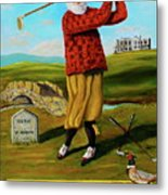 Old Tom Morris Metal Print