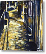 Old Town Hastings Metal Print