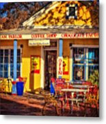 Old Town Ice Cream Parlor Metal Print