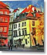 Old Town In Warsaw # 27 Metal Print