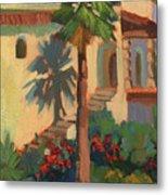 Old Town La Quinta Palm Metal Print