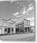 old town of Fort Steele BC Canada Metal Print