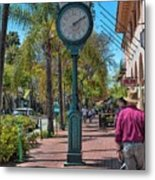 Old Town Santa Barbara Metal Print