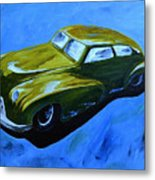 Old Toy Car Metal Print