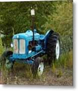 Old Tractor 3 Metal Print