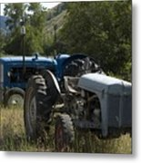 Old Tractor 7 Metal Print