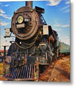 Old Train Metal Print