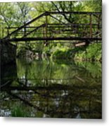 Old Trestle Bridge Metal Print