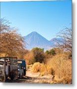 Old Truck In San Pedro De Atacama Metal Print