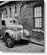 Old Truck Metal Print