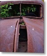 Old Truck New Vines Metal Print