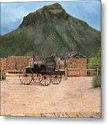 Old Tucson Metal Print