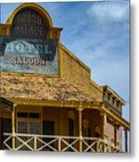 Old Tucson Saloon Metal Print