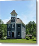 Old Two Room School House Metal Print