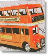 Old United Kingdom Travel Scene Metal Print