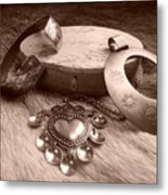 Old Viking Designs Metal Print