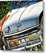 Old Vw Metal Print