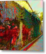 Old Wall Of The Ancient City Metal Print